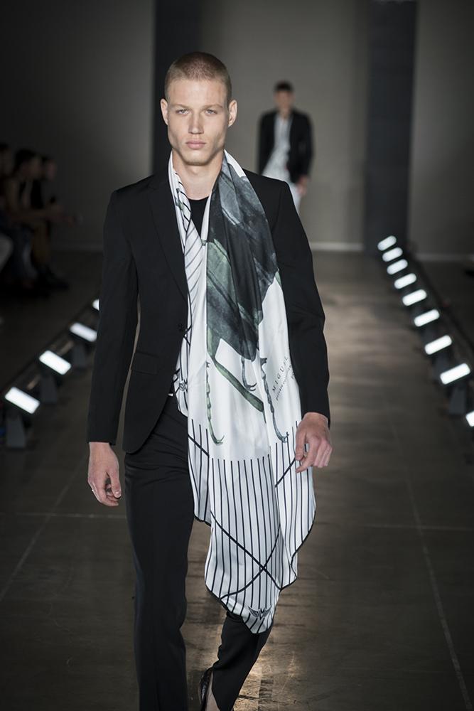 Portugal Fashion Show - Collezione Miguel Vieira SS 2018 -  Fabbrica del Vapore - Milano, 18 giugno 2017 - foto©ArmandoMelocchi